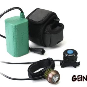 Lightweight 1000 lumen light set