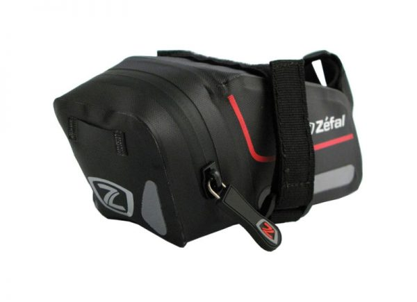 Waterproof saddlebag for cycling