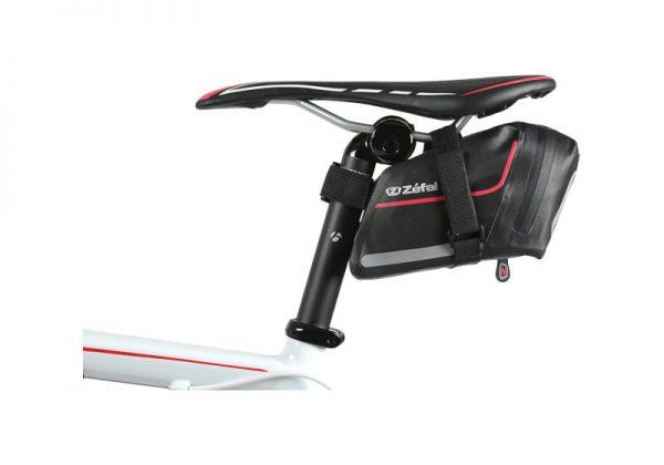 Waterproof saddlebag for cycling